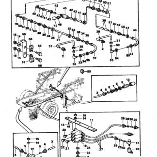 147219 Угловое соединение Scania